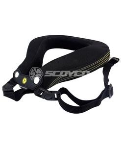 Защита шеи SCOYCO NO2В  цвет черный
