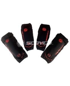 Защита локти/колени SCOYCO K18H18, цвет черный