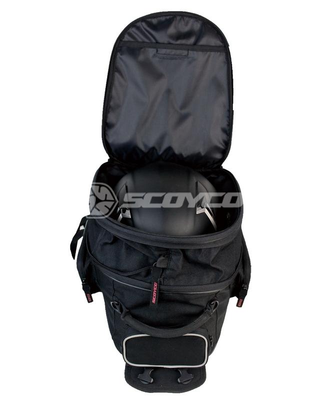 Сумка на бак SCOYCO MB21, цвет черный
